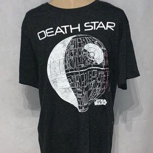 NWT Star Wars Death Star Gray t shirt size xxl